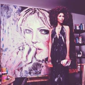 """Kristin Kossi:  """"Die Modewelt ist pseudoperfekt – ich male das Gegenteil"""""""