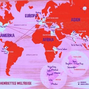 In 80 Orgasmen um die Welt: Ländercheck von Henriette Hell