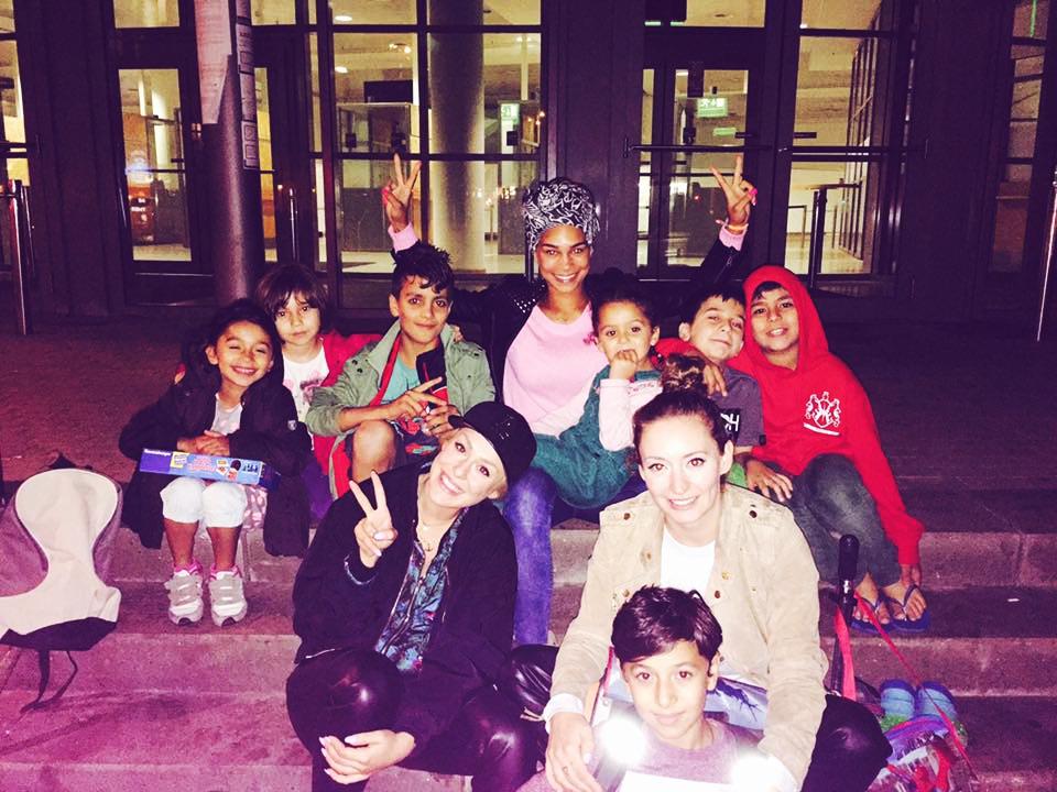 Meine Mädels und ich haben unfassbare Momente mit den Kids aus den Messehallen erlebt